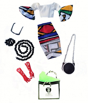 Luvuthando Dolls Fashion Pack 3 with Accessories
